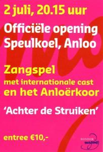 affiche opening speulkoel